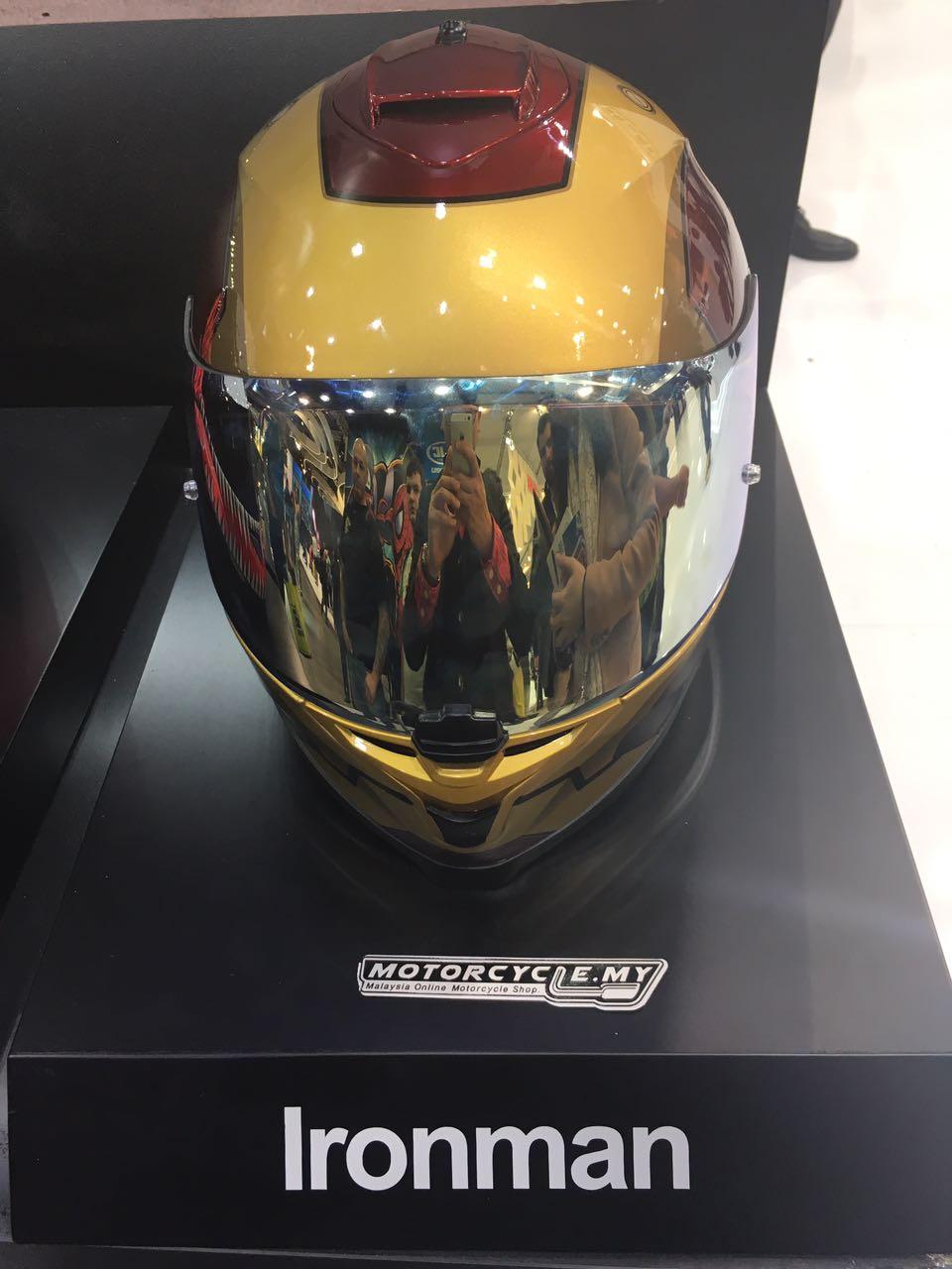 Marvel Limited Edition Hjc Helmets Eicma Spiderman