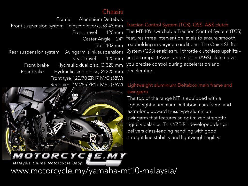 Yamaha Mt10 Malaysia Buy Now Motorcycle My