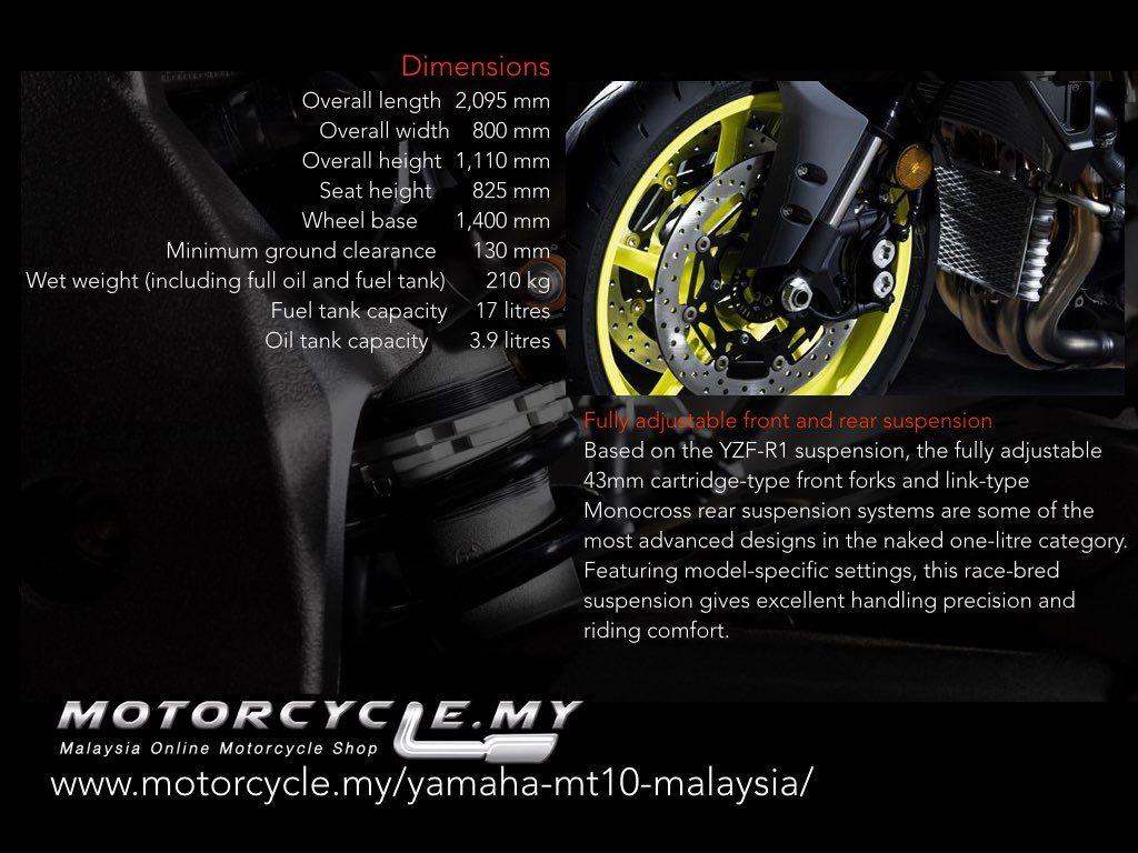 Motorcycle Myyamaha Mt10 Malaysia 005