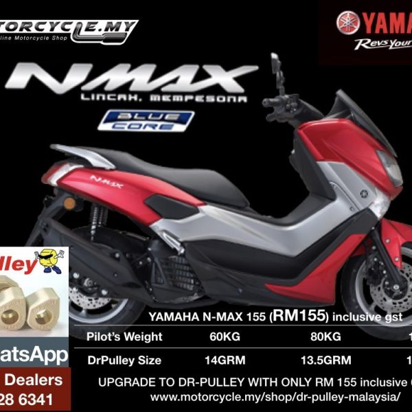 yamaha nmax155 dr pulley sliding roller. Black Bedroom Furniture Sets. Home Design Ideas