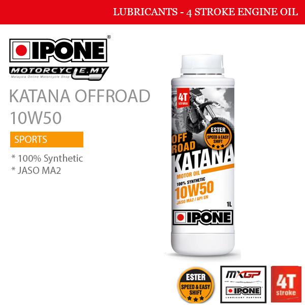 ipone katana offroad 10w60 malaysia