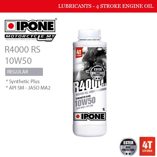 IPONE R4000 RS 10W50 Malaysia