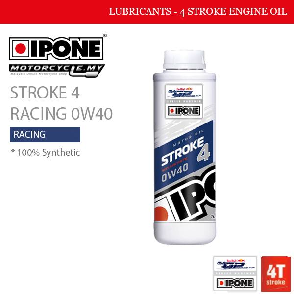 IPONE Stroke 4 Racing 0W40 MALAYSIA