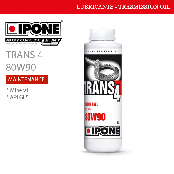 IPONE Trans 4 80W90 Malaysia
