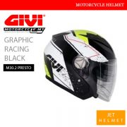 GIVI Graphic Racing Black Jet M30.2 Presto Helmet Malaysia