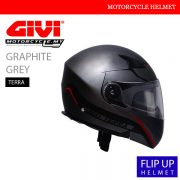 GIVI Graphite Grey Flip Up Terra Helmet MALAYSIA
