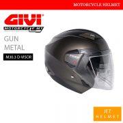 GIVI Gun Metal Jet M30.3 D-Visor Helmet Malaysia