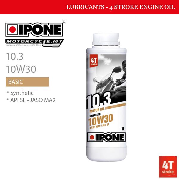 IPONE 10.3 10W30 Malaysia