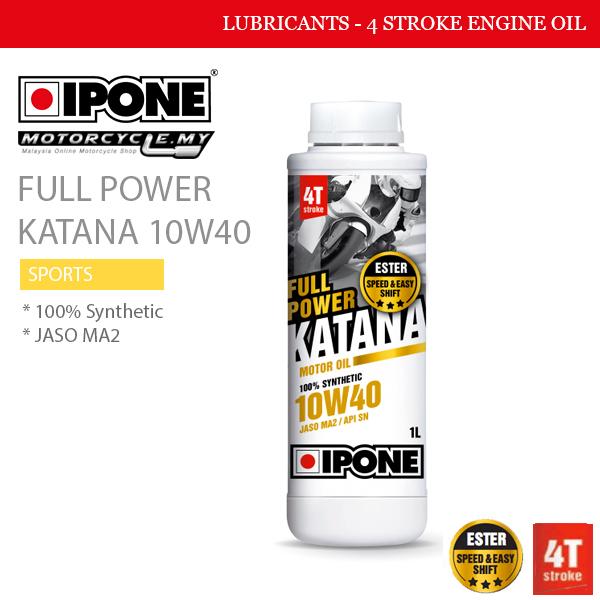 IPONE Full Power Katana 10W40 Malaysia