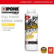 IPONE Full Power Katana 10W60 Malaysia