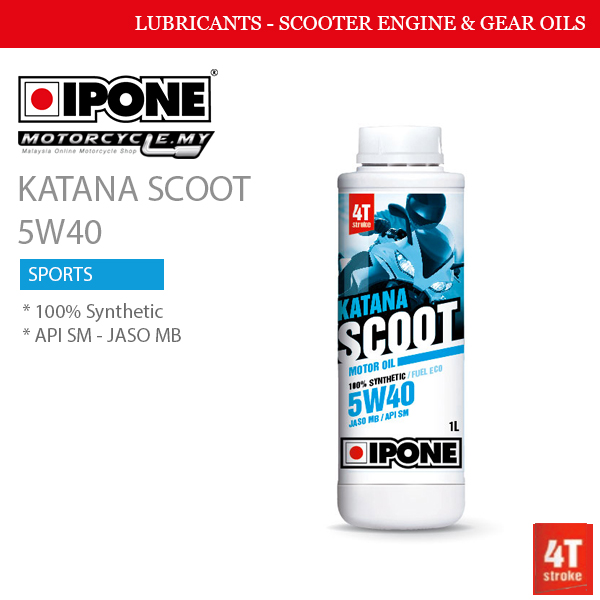 IPONE Katana Scoot 5W40 Malaysia