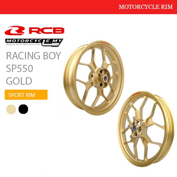 Racing Boy Sport Rim SP550 Gold Malaysia