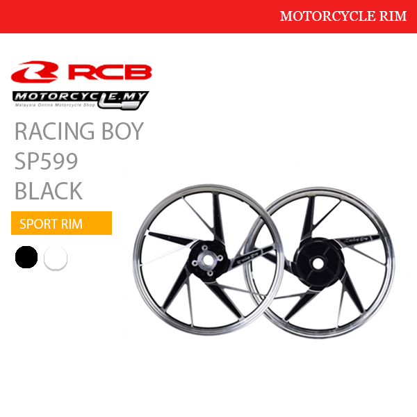 Racing Boy Sport Rim SP599 Black Malaysia