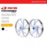 Racing Boy Sport Rim SP599 White Malaysia