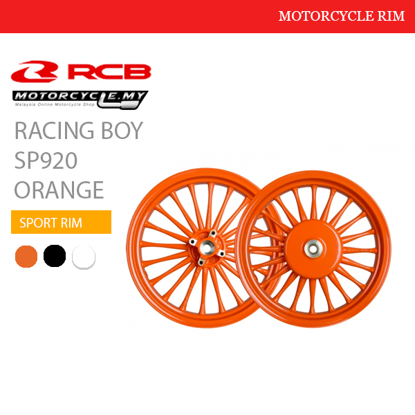 Racing Boy Sport Rim SP920 Orange Malaysia