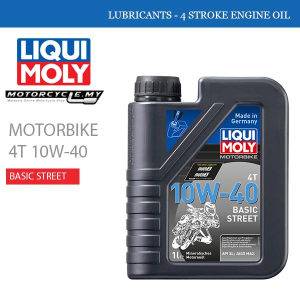 LIQUI MOLY Motorbike 4T 10W-40 Street Malaysia