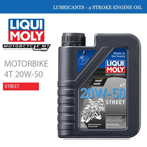 LIQUI MOLY Motorbike 4T 20W-50 Street Malaysia