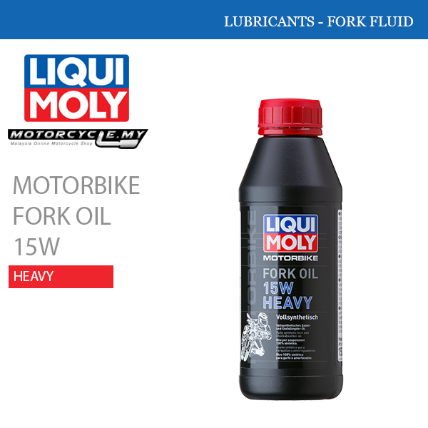 LIQUI MOLY Motorbike Fork Oil 15W Heavy Malaysia
