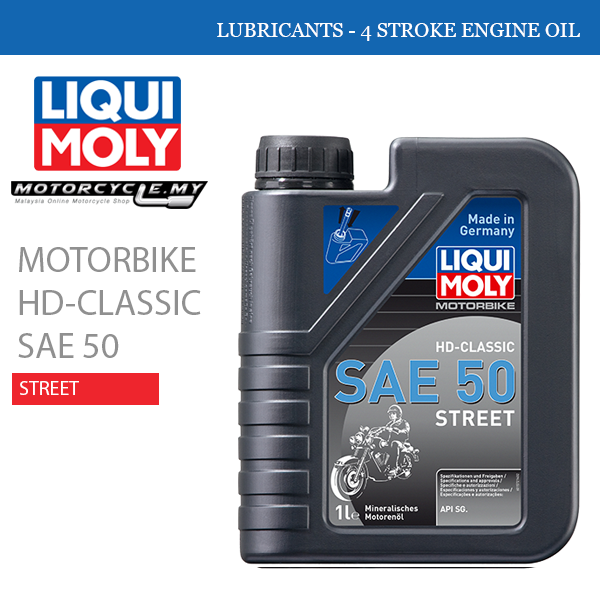 LIQUI MOLY Motorbike Hd-Classic Sae 50 Street Malaysia