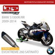 HP CORSE BMW S1000R-RR 2009-2014 Exhaust Silencer EVOXTREME 260 SATINATO Malaysia