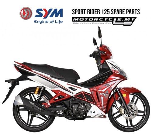 SYM MALAYSIA SPORT RIDER 125 SPARE PARTS.001