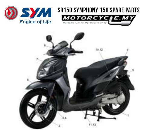 SYM MALAYSIA SR150 SYMPHONY 150 SPARE PARTS