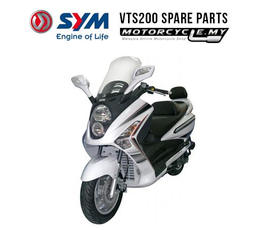 SYM Malaysia VTS200 SPARE PARTS