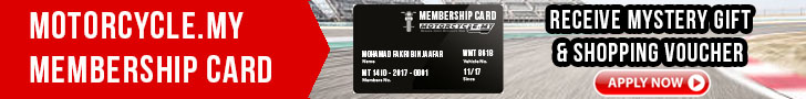 Motocycle.my Members Card Red