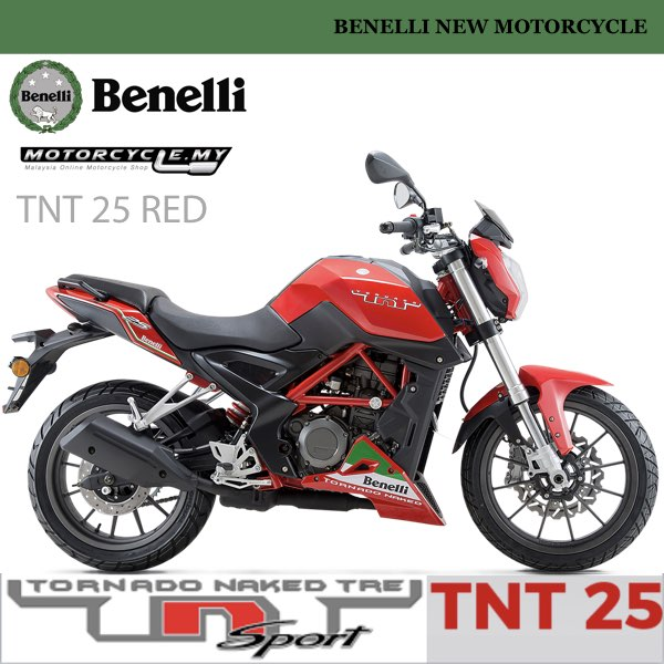 BENELLI TNT 25 MALAYSIA