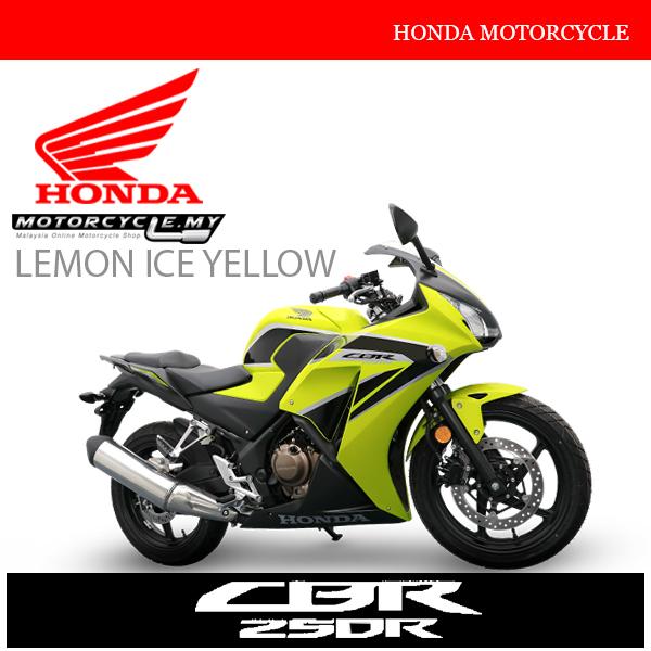 Honda CBR250R Malaysia Lemon Ice Yellow