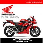 Honda CBR250R Malaysia Milennium Red