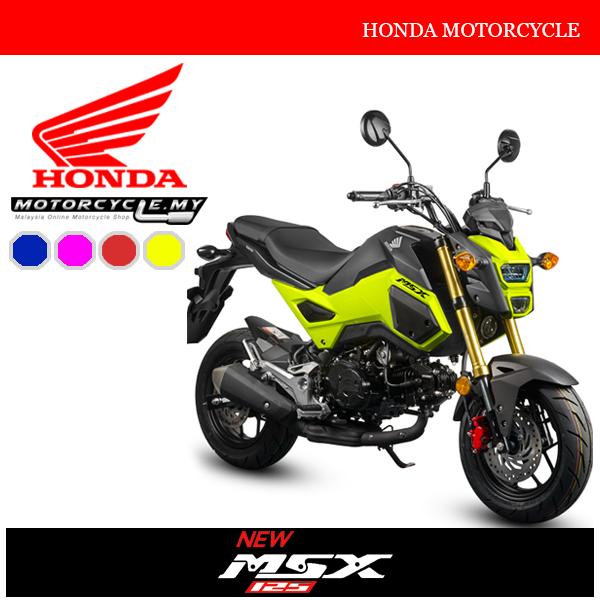 Honda MSX125 Malaysia