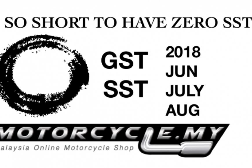 Latest Motorcycle Malaysia Prices list 0% GST
