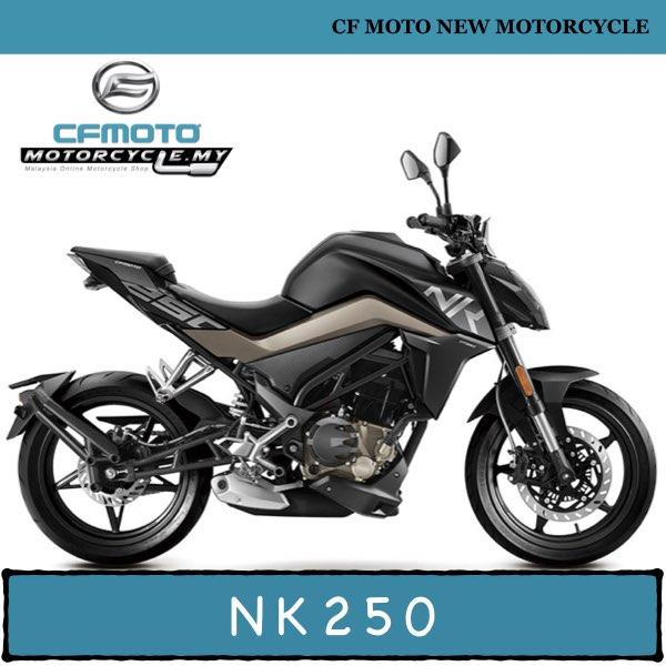 CF MOTO NK250 MALAYSIA