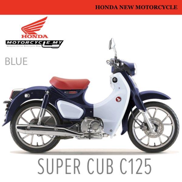 HONDA SUPERCUB 125 MALAYSIA.001