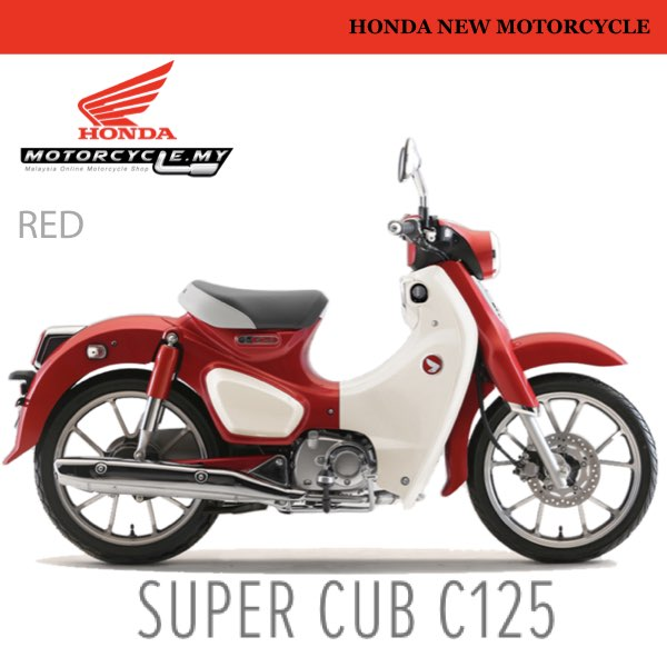 HONDA SUPERCUB 125 MALAYSIA.002