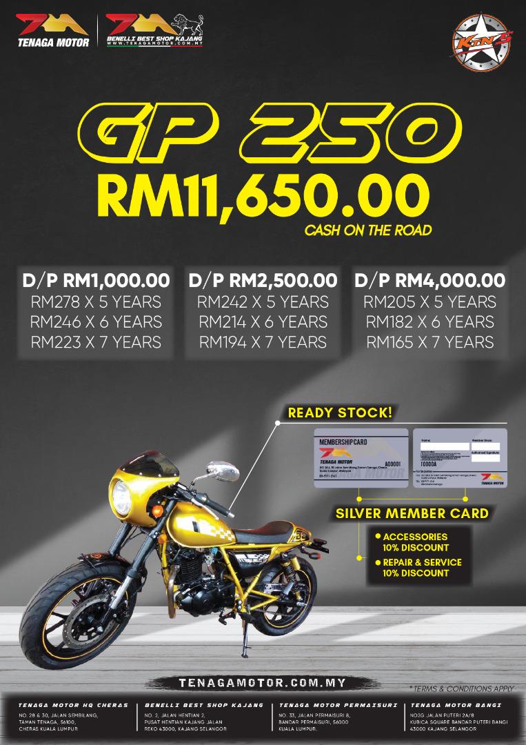 Tenaga Motor GP 250