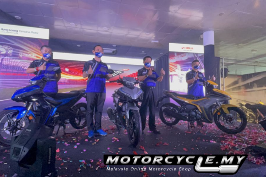 The All-New High-Performance Hong Leong Yamaha Y16ZR is Here
